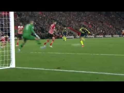 Southampton Vs Arsenal 0 - (1) ( Alexis Sanchez ) 60'