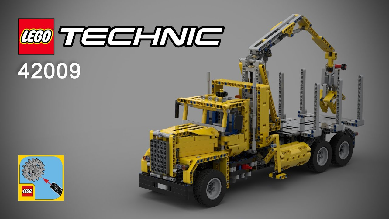 Lego Technic 42009 C Model Mobile Crane Mk Ii Download Instruction
