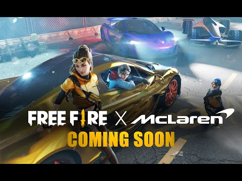 Official Announcement: Free Fire X Mclaren Collaboration!   Garena Free Fire