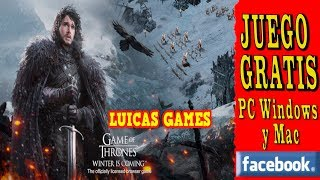 Game of Thrones Winter is Coming Juego de Estrategia MMO Gratis en PC, Navegador Web y Facebook