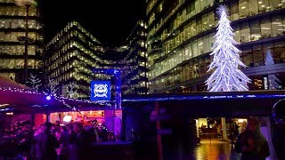 LONDON WALK | Christmas by the River at London Bridge City | England