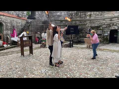 A artesanía volve tomar o Castelo de Vimianzo