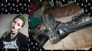 NEW ROCK REACTOR REVIEW | Goth Boots Video