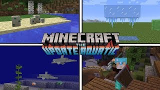 SAIU! NOVAS NOVIDADES DO MINECRAFT PE 1.3/1.4, THE AQUATIC UPDATE ?! (Minecraft Pocket Edition)