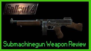 .45 Submachine Gun Weapon Review - Fallout 4