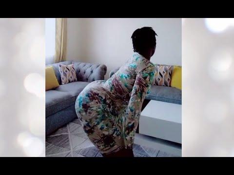 Download Big tiktok bum african @christinahpope1 causes an ass-quake by twerking