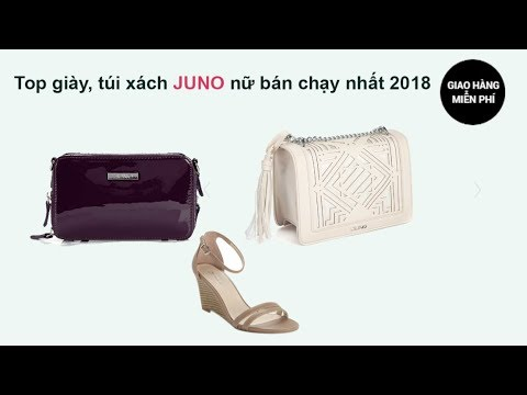 Top giày, túi xách Juno nữ bán chạy nhất tháng 12/2018