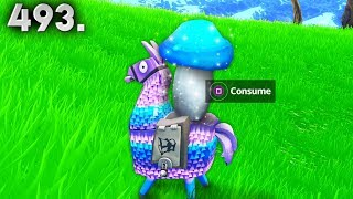 VERY RARE MUSHROOM LLAMA.. Fortnite Daily Best Moments Ep.493 (Fortnite Battle Royale Funny Moments)