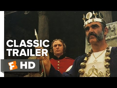 The Man Who Would Be King (1975) Official Trailer - Sean Connery Movie