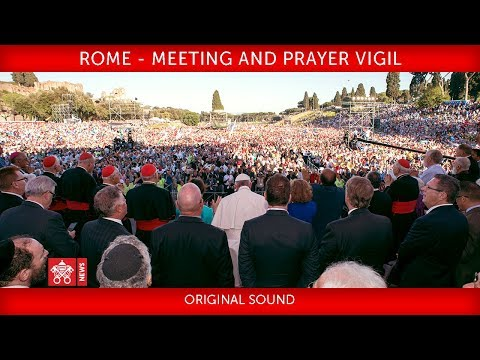 Pope Francis - Rome - Meeting and prayer vigil