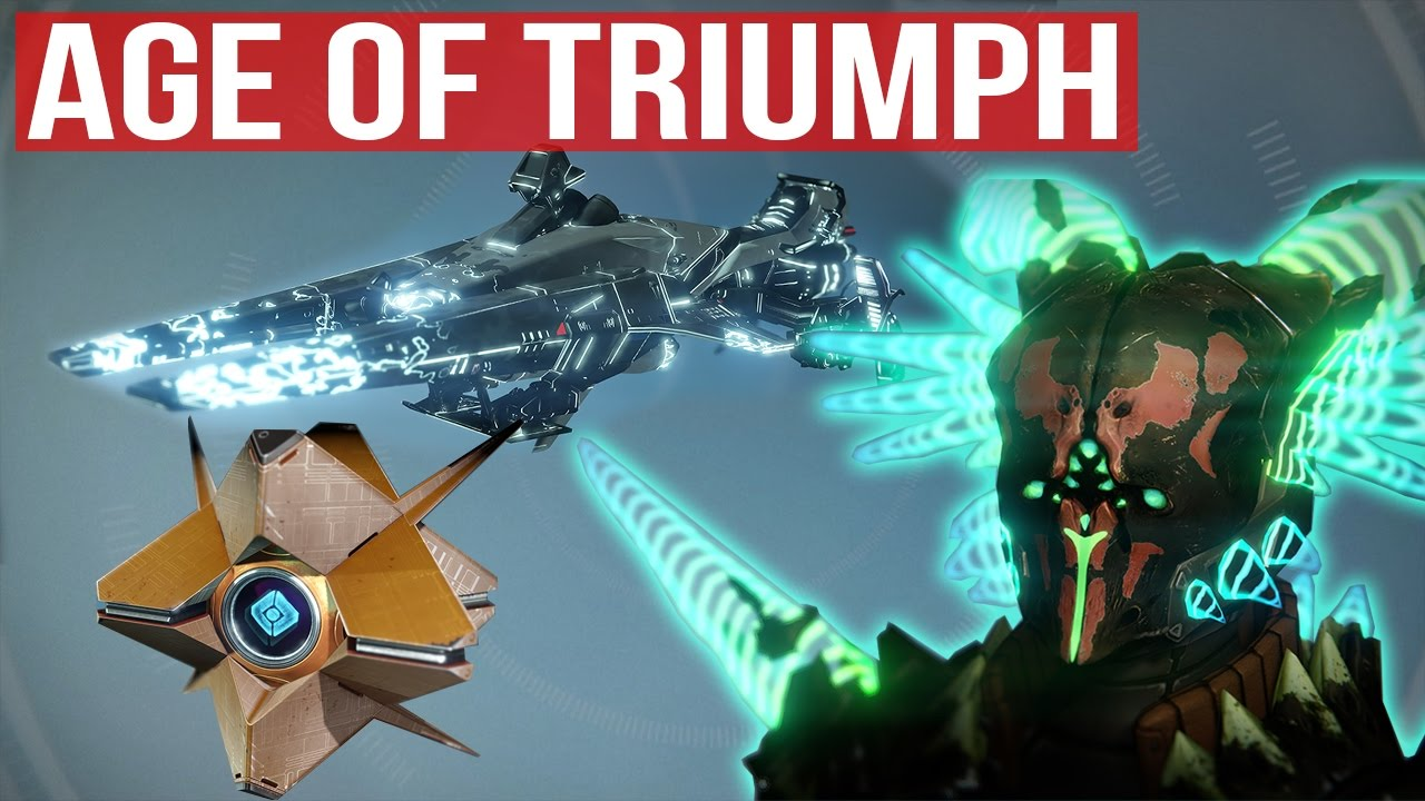 destiny age of triumph new ghosts & new sparrow !! - all armors