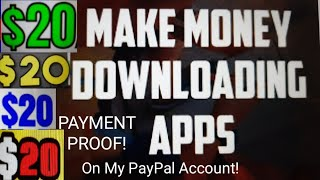 PAYMENT PROOF Make $20 Download Apps For Free Make Money App Earn PayPal Money Free Amazon Gift Card