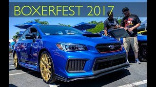 homepage tile video photo for I saw the 2018 WRX STI Type RA! (BoxerFest 2017)