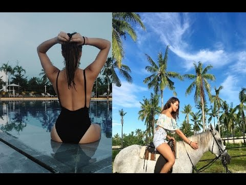 Sarah Lahbati Took Vacation In Cebu