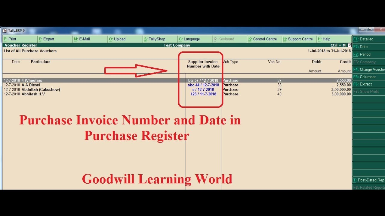 Register option to purchase