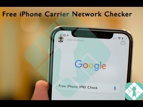 FREE Check Carrier Sim Lock Network Status Clear or Blocked for your iPhone