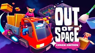Out of Space Online Co-Op 04 Players Gameplay
