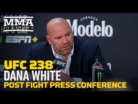 UFC 238: Dana White Post-Fight Press Conference - MMA Fighting