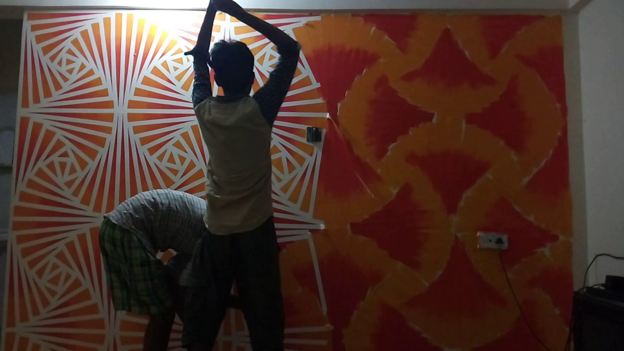 New texture idea..Wall designs.. ROYAL INDIA SERVICES ...