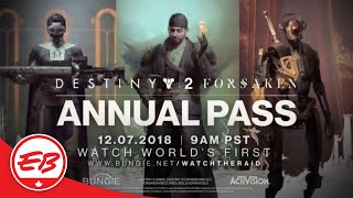 Destiny 2: Forsaken Annual Pass: Scourge Of The Past Raid Teaser - Activision | EB Games