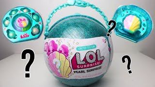 LOL Pearl Surprise Blind Bag Ball with Fizz Shell in Water! | DIYnya Cantika