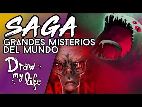 Los grandes MISTERIOS DEL MUNDO - Draw My Life en Español