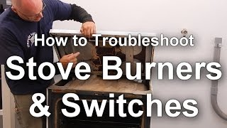 How to Troubleshoot Glass Top Stove Burners and Switches