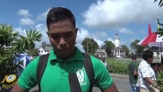 Het 10 Minuten Jeugd Journaal uitzending 25 januari 2017(Suriname / South-America)
