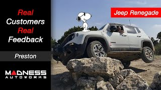 Real Customers, Real Feedback: Jeep Renegade Performance Mods - Preston