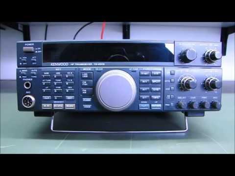 ALPHA TELECOM: KENWOOD TS-450S/AT TROCA CAPACITORES + REVISÃO - YouTube