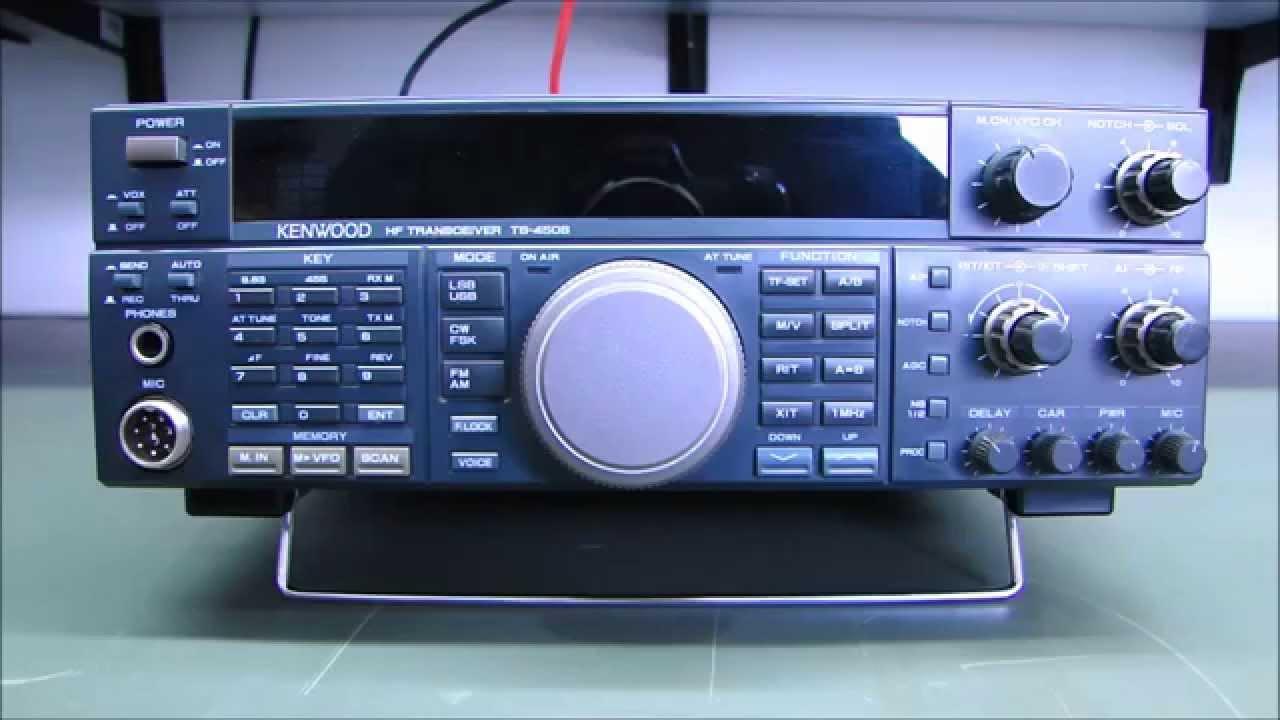 ALPHA TELECOM: KENWOOD TS-450S/AT TROCA CAPACITORES + REVISÃO