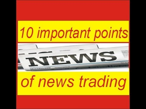 Ten important points of news trading ! Forex Live Trading & Strategies In Hindi Urdu By Tani Forex