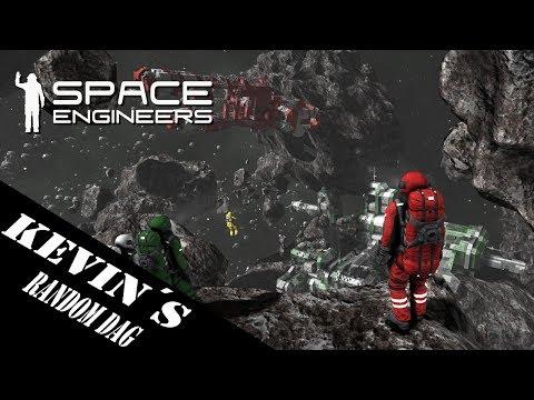 (Dansk/Danish) Kevin´s random fredag: Space engineers (Med Mikethenumberes)