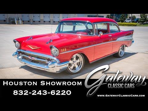 1957 Chevrolet Bel Air Gateway Classic Cars #1565 Houston Showroom