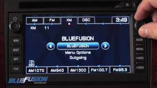 bluefusion bluetooth handsfree car kit for for gm lan systems by scosche
