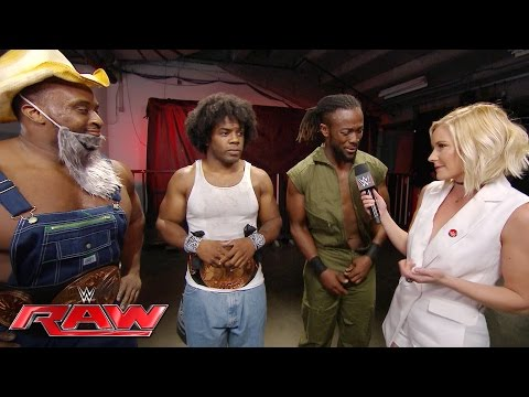 Xavier Woods is petrified: Raw, June 27, 2016