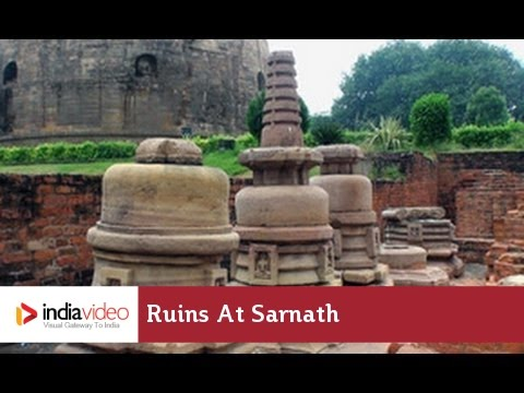 Ruins at Sarnath, Varanasi