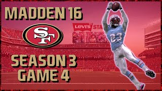 Madden 16 Franchise: San Francisco 49ers | Year 3, Game 4 @ Titans | Oilers Throwback!!
