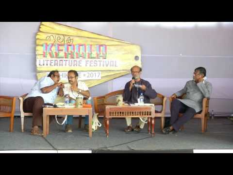 Cyber World and the Literary World - Kerala Literature Festival Discussion - KLF 2017