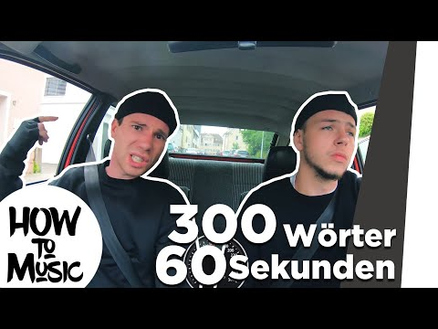 300 Wörter In Der Minute Rappen - Rezos Challenge L NME