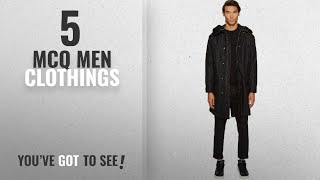 Top 10 Mcq Men Clothings [ Winter 2018 ]: McQ Men