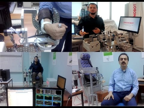 A local robot capable of diagnosis and treatment was produced.