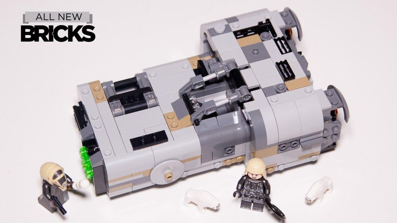 Lego Star Wars 75210 Moloch's Landspeeder Lego Speed Build