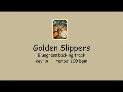 Golden Slippers  - Bluegrass Backing Track