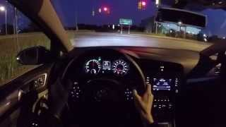 2015 Volkswagen e-Golf - WR TV POV Night Drive