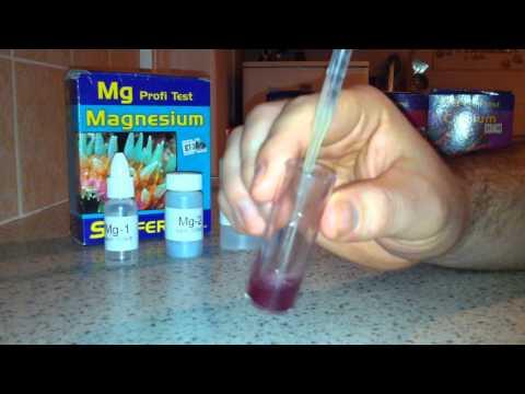 Marine Aquarium Magnesium (Mg) Salifert Test