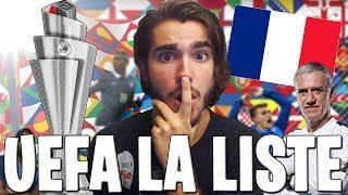 LA LISTE DES 23 JOUEURS POUR L'UEFA NATIONS LEAGUE / UN CHAMPION DU MONDE NON-SÉLECTIONNÉ !