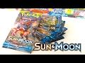 8 FANTASTIC PACKS OF POKEMON SUN AND MOON! (VS MandaPanda Toy Collector!)