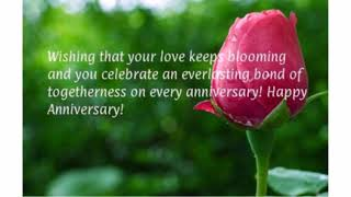 Romantic Happy Anniversary Sayings and Messages