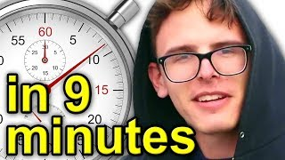 One of FootofaFerret's most viewed videos: The History Of iDubbbz | A Brief History
